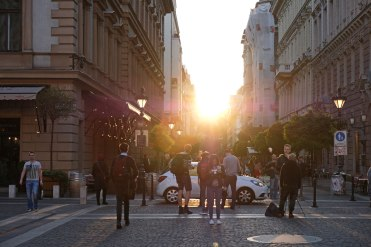 Pest-Architektur-Sonne