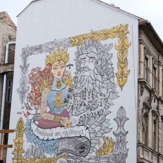 Streetart-Budapest-Mural