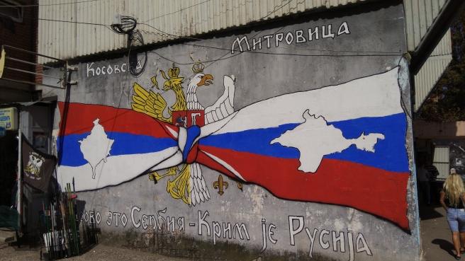 """""""Der Kosovo ist Serbien - Die Krim ist Russland"""""""